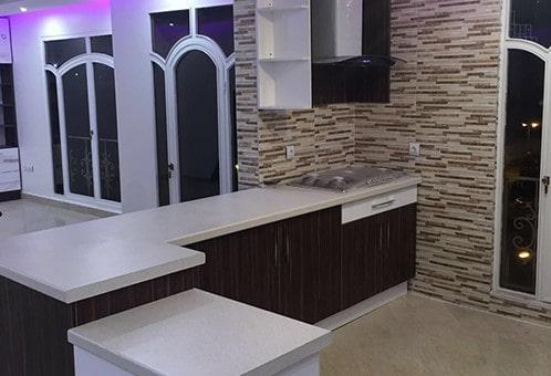 پروژه کابینت آشپزخانه رستمی