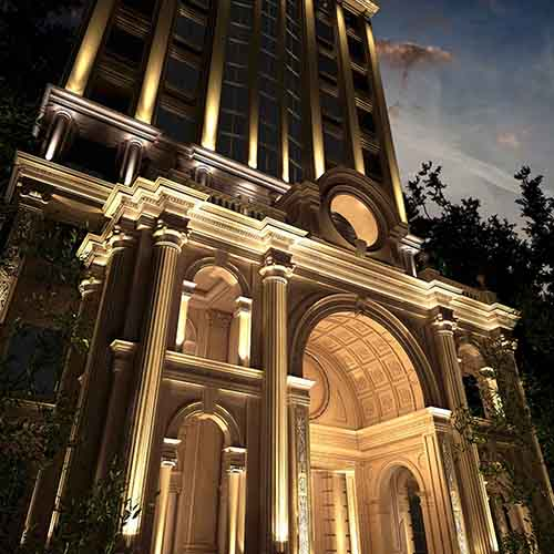 شرکت معماری و دکوراسیون داخلی دکوطرح - namaie sakhteman tehran 1