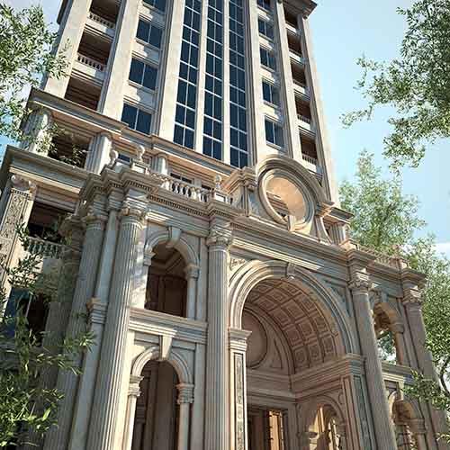 شرکت معماری و دکوراسیون داخلی دکوطرح - namaie sakhteman tehran 2