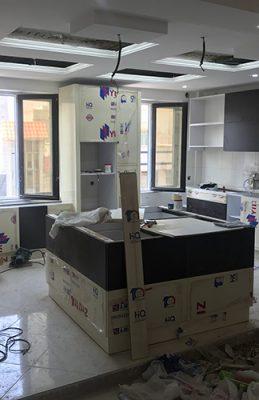 پروژه مسکونی تهرانسر – مرحله اجرا