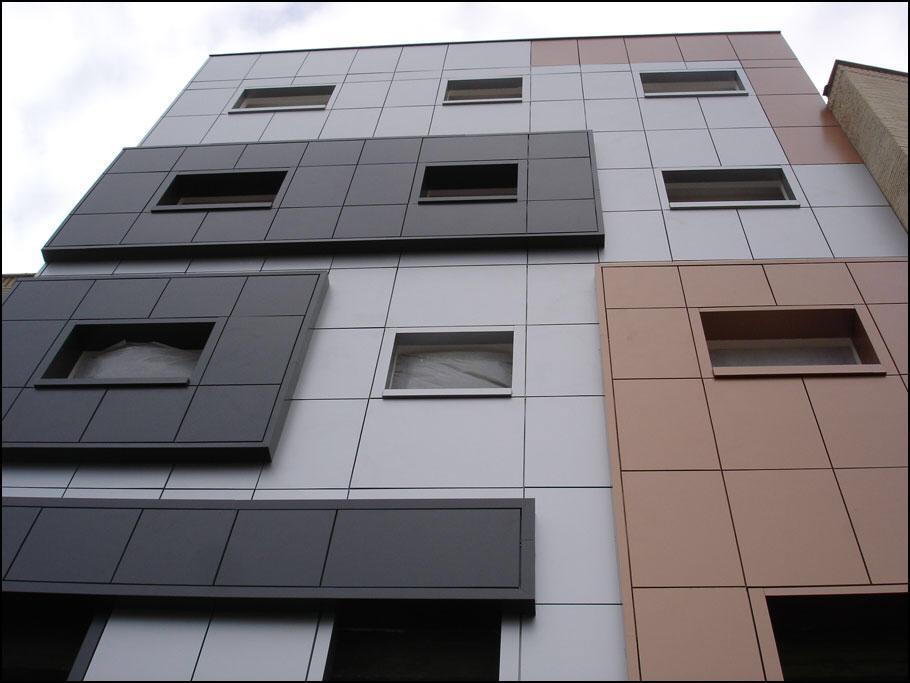 نمای کامپوزیت - نمای ساختمان