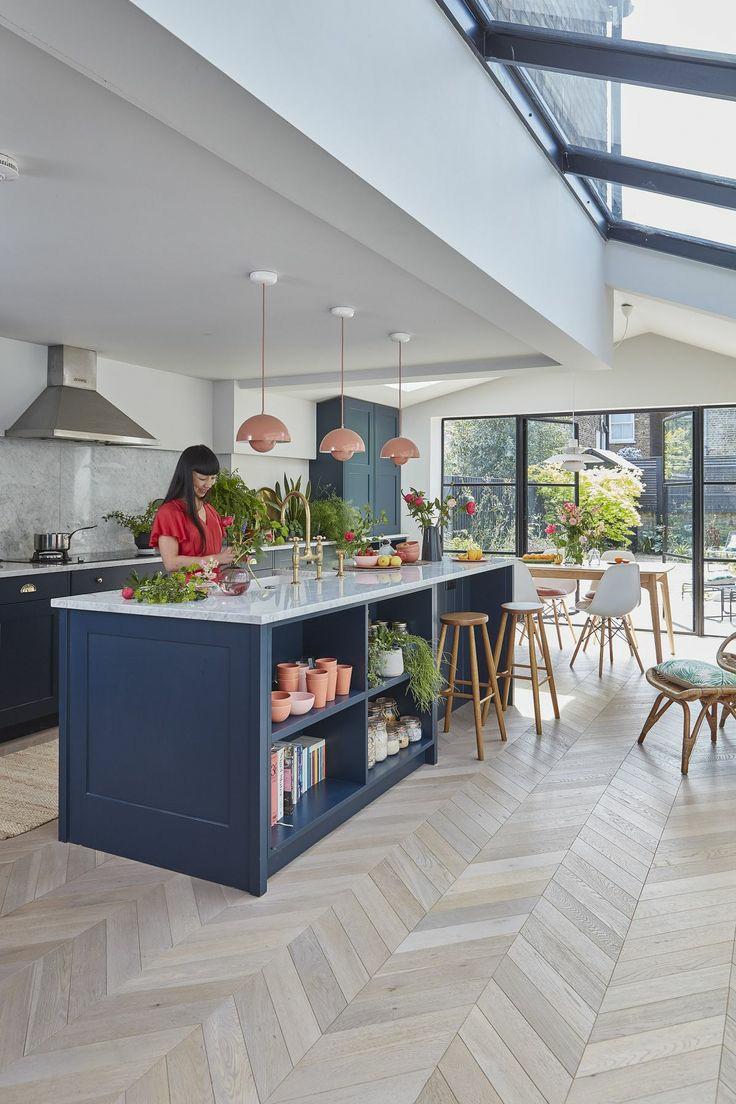 طراحی آشپزخانه اپن ام دی اف