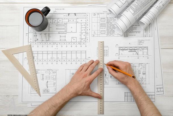 اصول طراحی پلان اداری