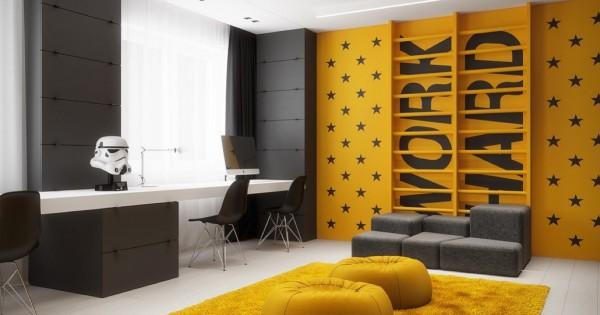 طراحی دکوراسیون داخلی اتاق نوجوان