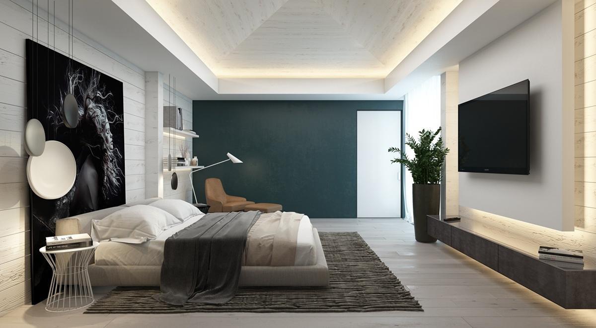 طراحی اتاق خواب نیاوران تهران