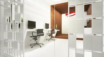 طراحی داخلی اتاق کار ولنجک