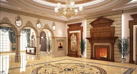 طراحی داخلی لوکس تهران