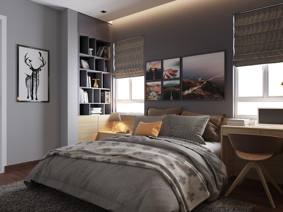 طراحی دکوراسیون اتاق خواب سعادت آباد