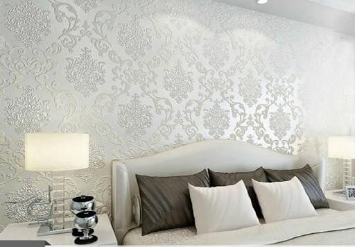 کاغذ دیواری زمینه سفید تهران