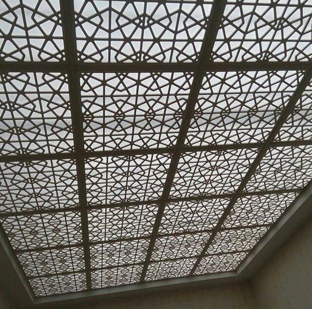 کاربرد سقف مشبک