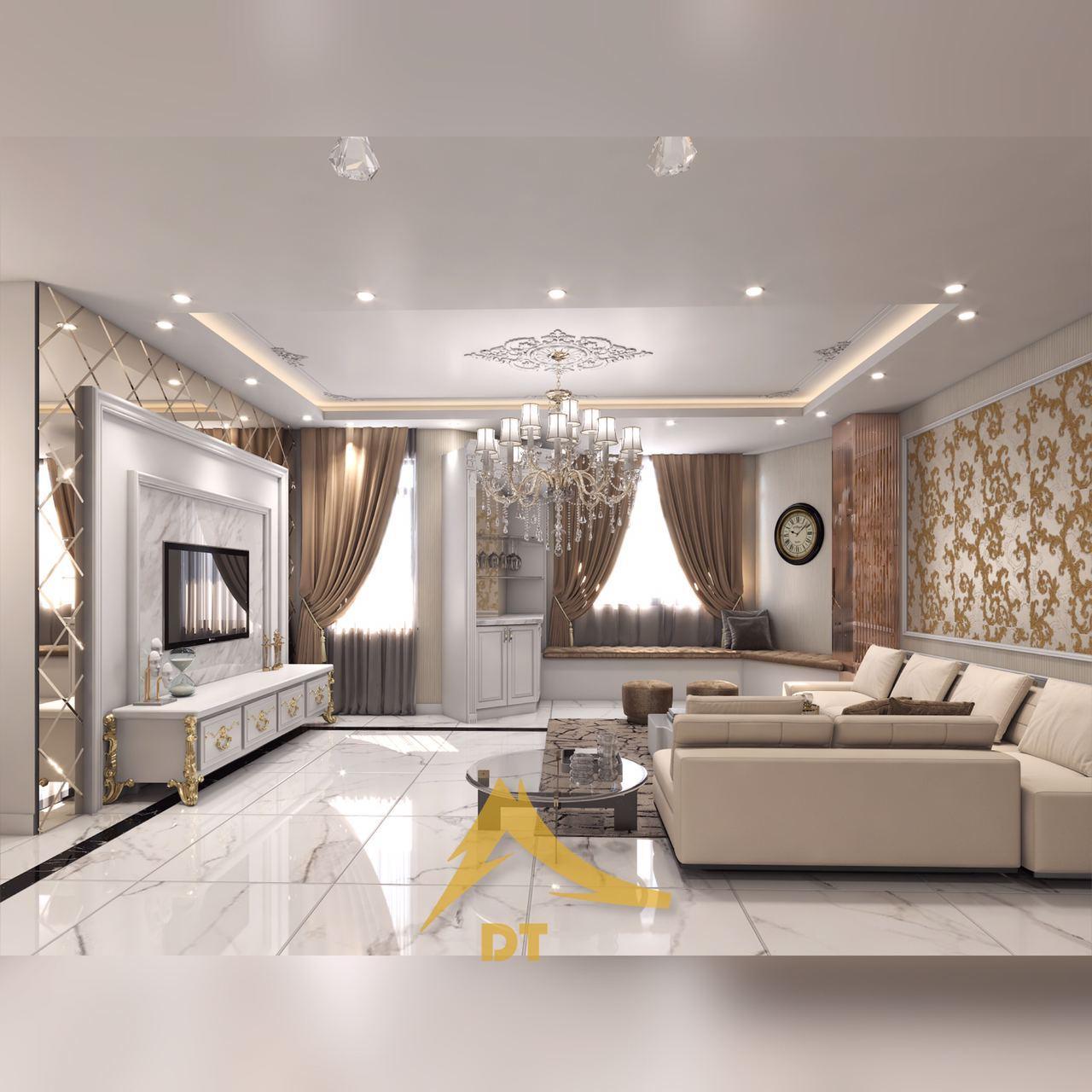 طراحی پروژه مسکونی فرمانیه