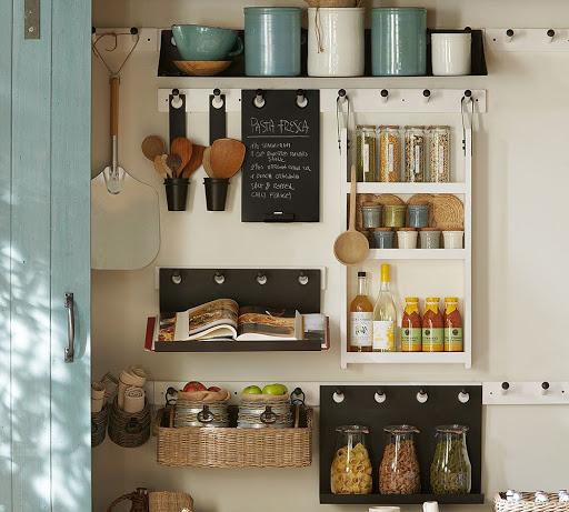 آشپزخانه بدون کابینت