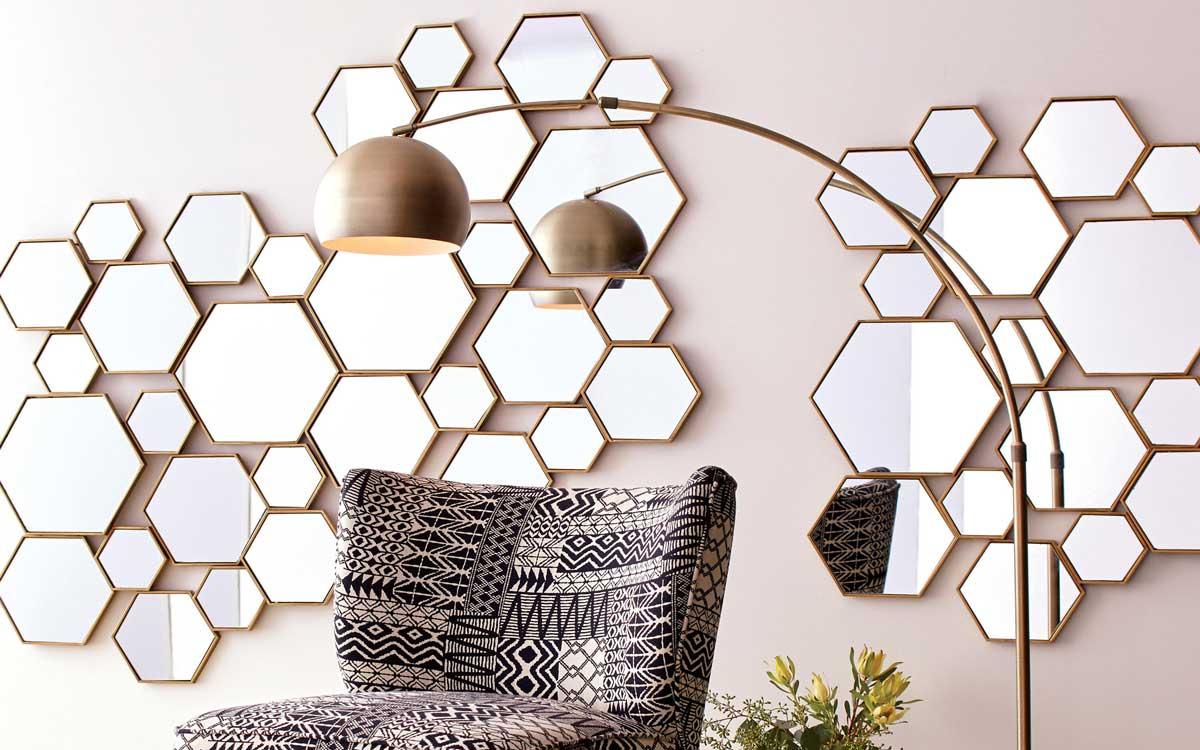 آینه کاری به سبک هندسی