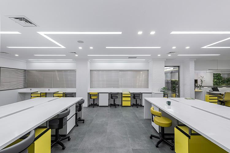 طراحی داخلی آزمایشگاه طبی
