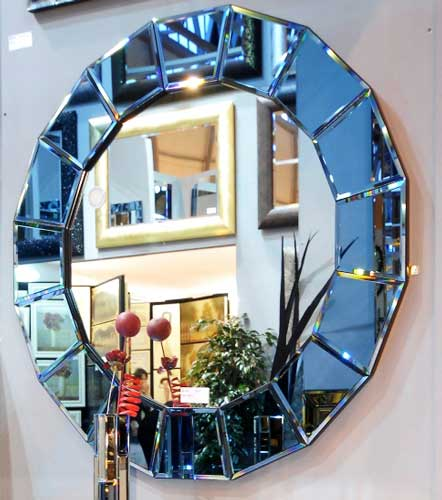 آینه آبی در دکوراسیون