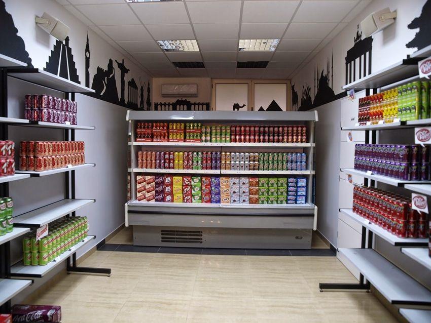 طراحی داخلی مغازه های خرده فروشی