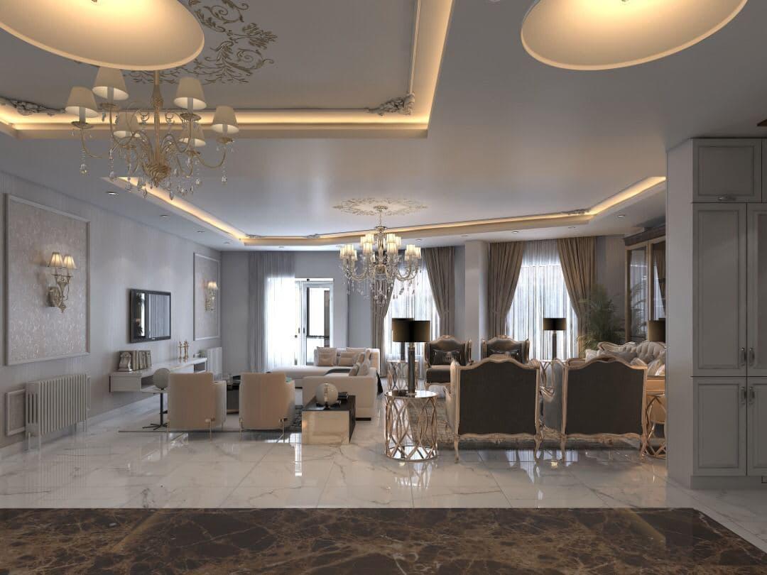 پروژه بازسازی منزل نئو کلاسیک