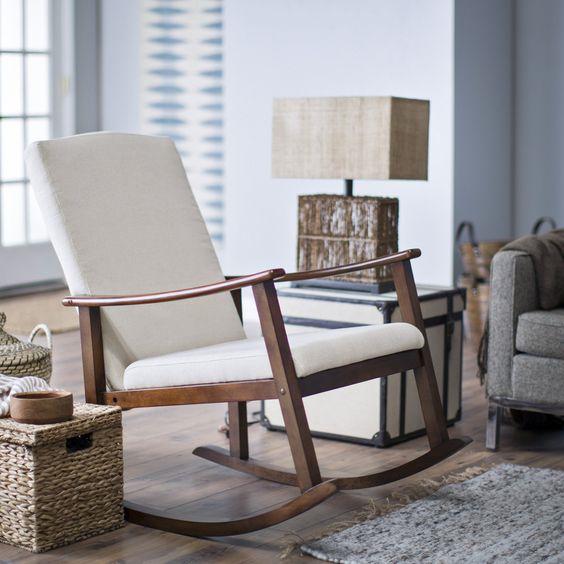 صندلی راک در منزل، دکوراسیونی متفاوت