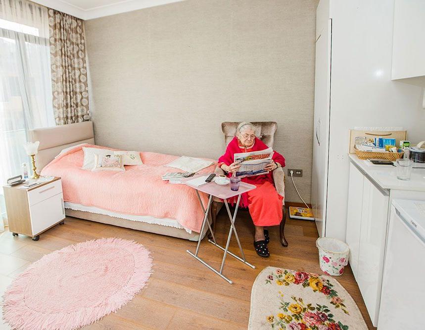 طراحی داخلی آسایشگاه سالمندان