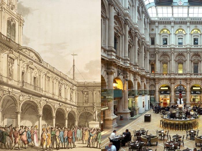 بازسازی ساختمان صرافی سلطنتی در لندن