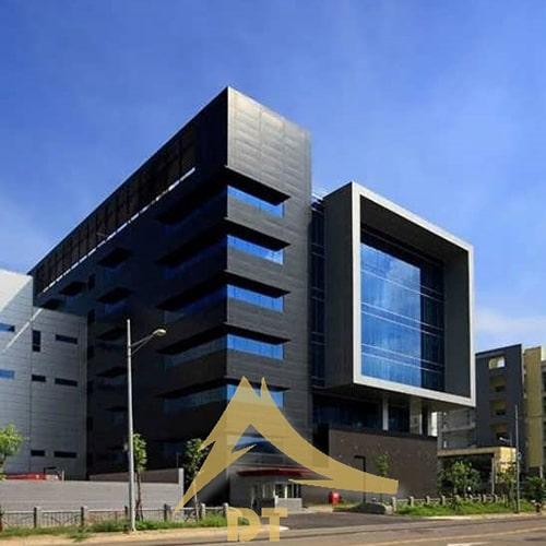 نمای ساختمان تجاری