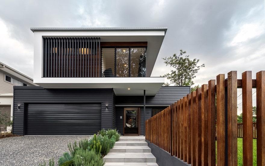 طراحی نمای ساختمان مسکونی