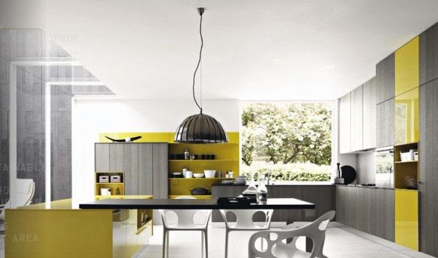استفاده از رنگ زرد در خانه