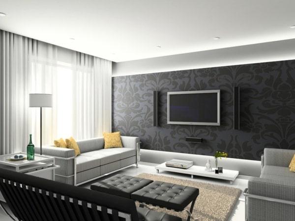 استفاده از رنگ سیاه در خانه | بازسازی تهران