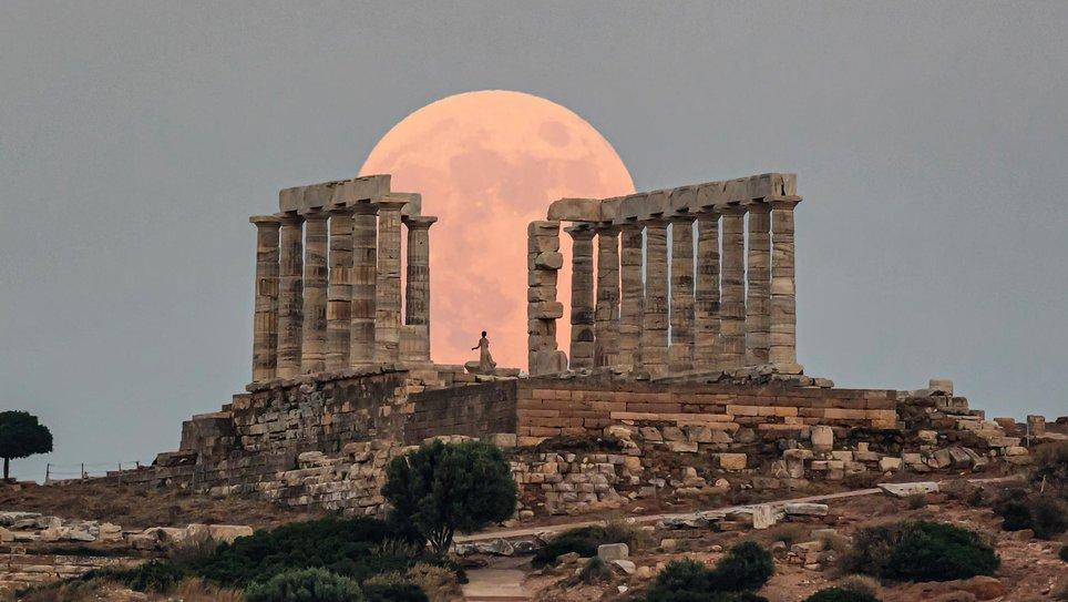معماری های مشهور یونان