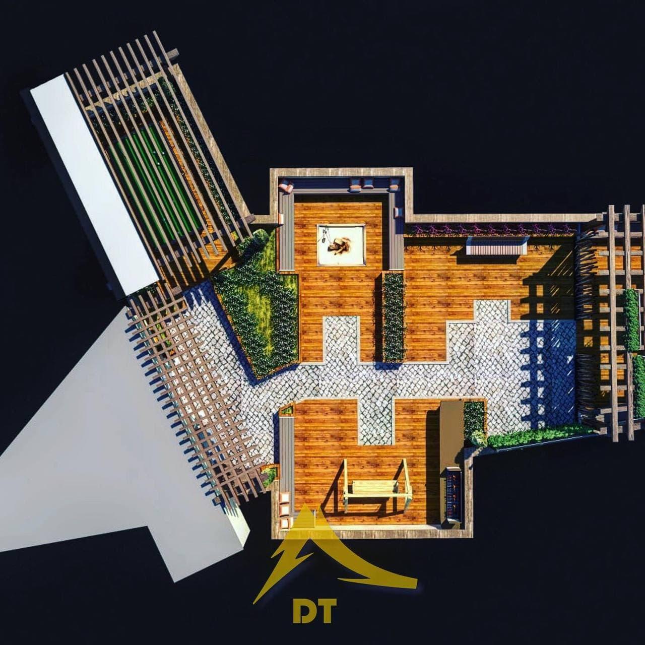 شرکت معماری و دکوراسیون داخلی دکوطرح - nama landscape 1