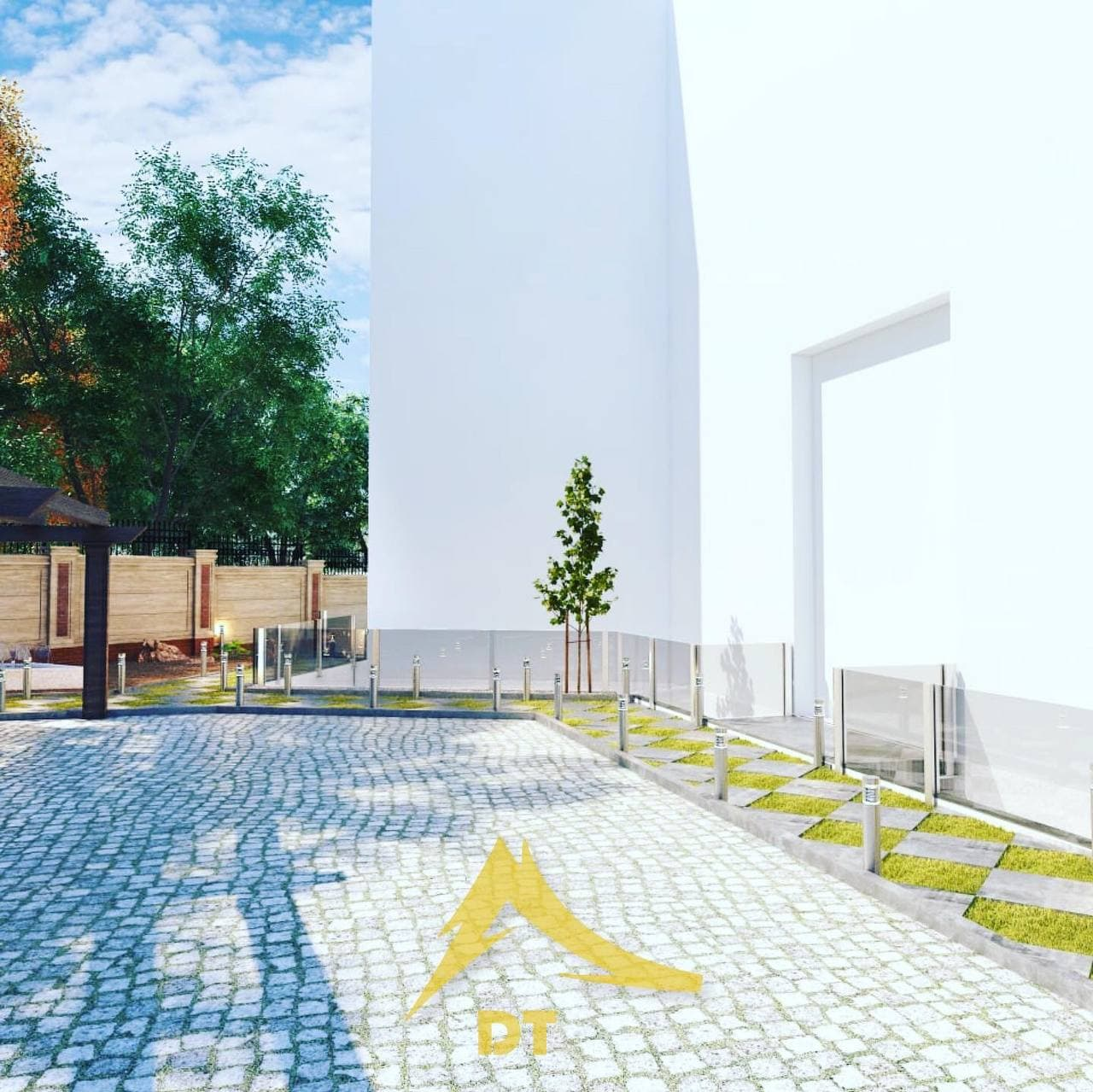 شرکت معماری و دکوراسیون داخلی دکوطرح - nama landscape 5