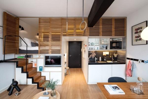 ایده های طراحی آپارتمان کوچک