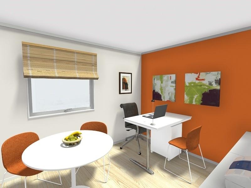 طراحی دفتر اداری کوچک